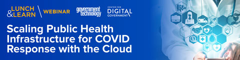 Scaling Public Health Infrastructure for COVID Response with the Cloud