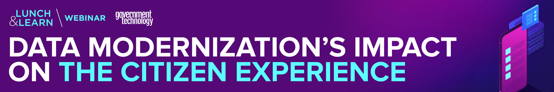Data Modernization's Impact on the Citizen Experience