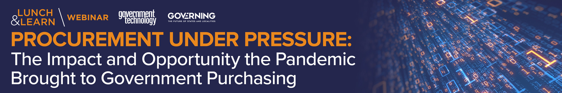 Procurement Under Pressure: The Impact and Opportunity the Pandemic Brought to Government Purchasing