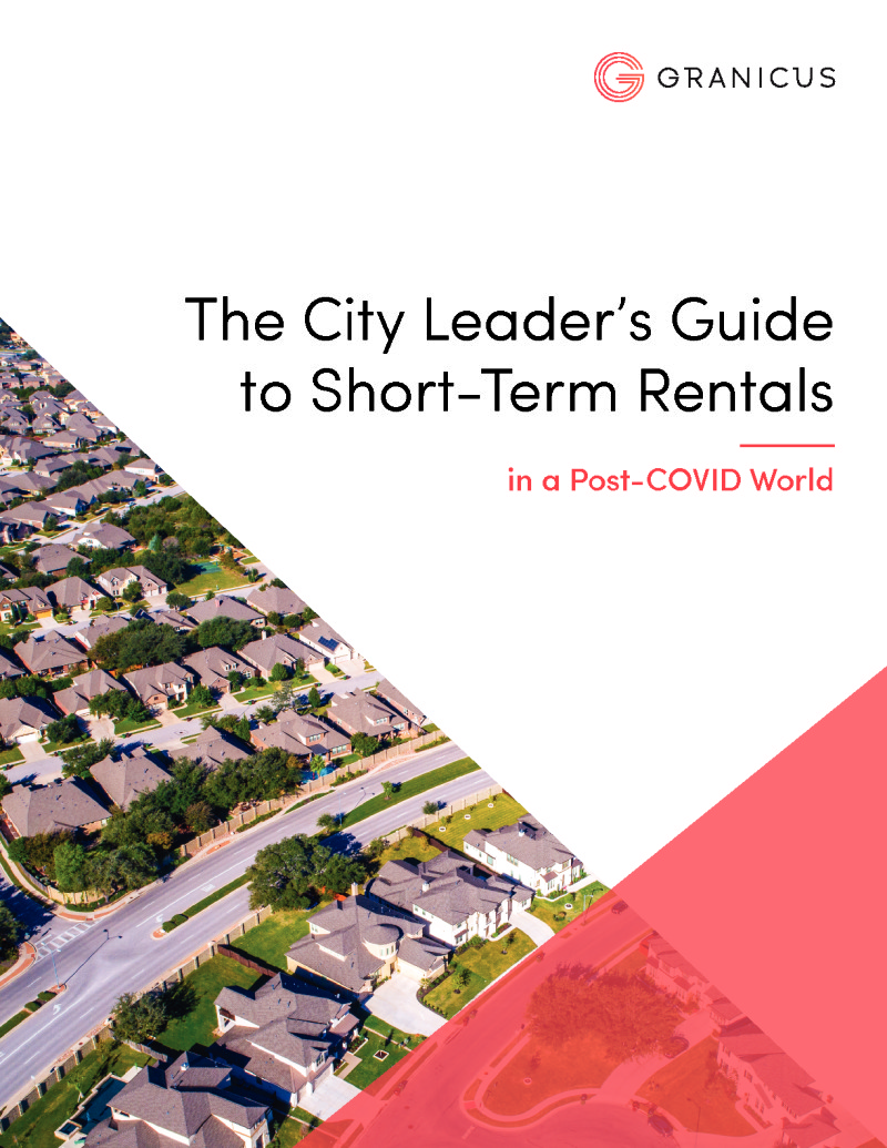 The City Leader's Guide to Short-Term Rentals in a Post-COVID World