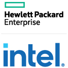 HP Enterprise Intel stacked