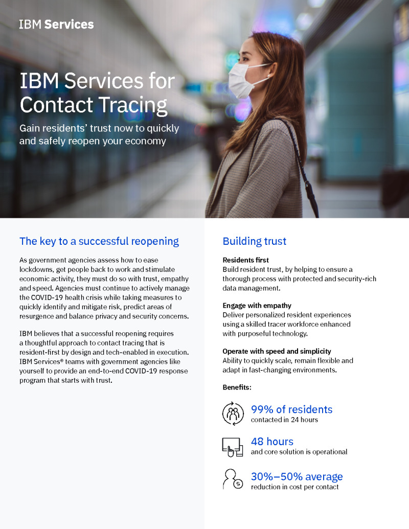 IBM Services for Contact Tracing