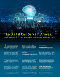 Implementing Robotic Process Automation Across Government