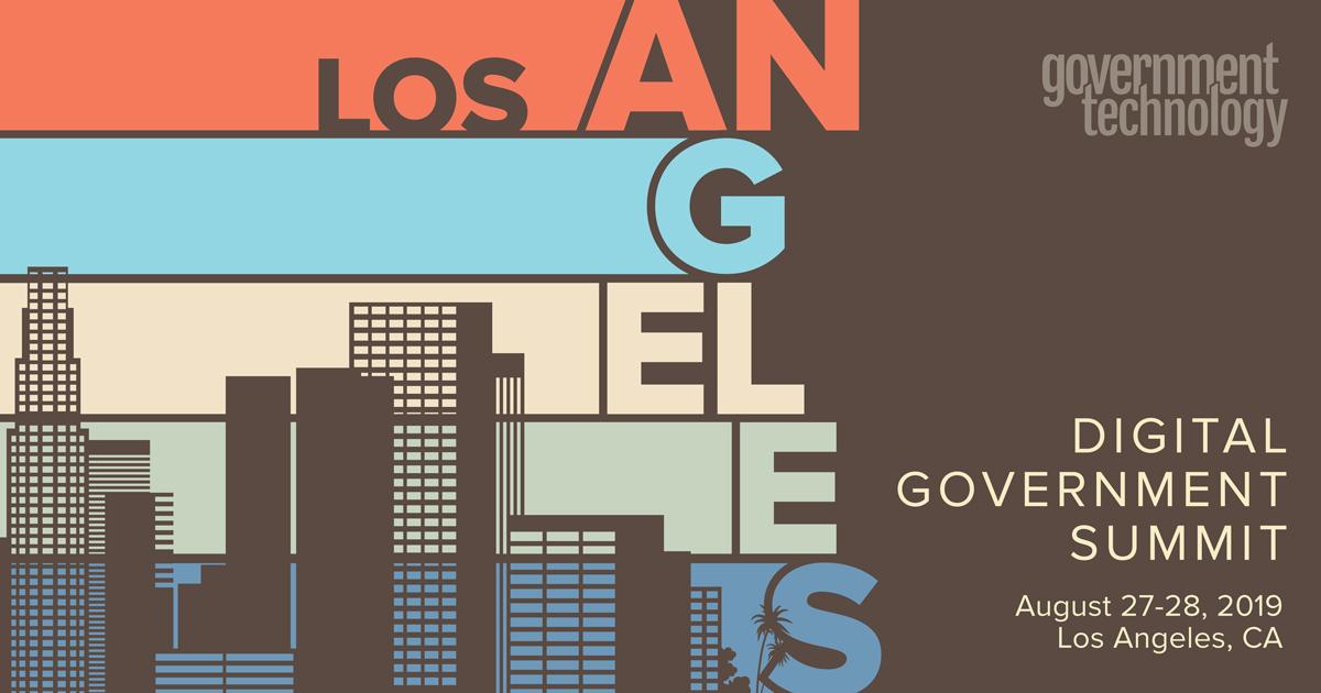 Los Angeles Digital Government Summit 2019