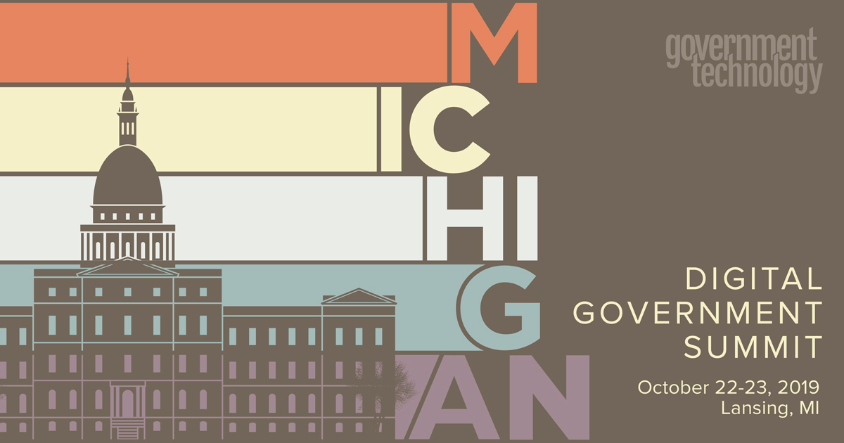 Michigan Digital Government Summit 2019