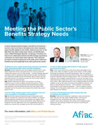Q&A: Meeting the Public Sector's Benefits Strategy Needs