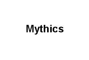 Mythics TextLogo