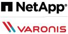 NetApp Varonis Logo 140RGB