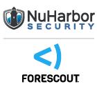 NuHarbor ForeScout Logo-140RGB