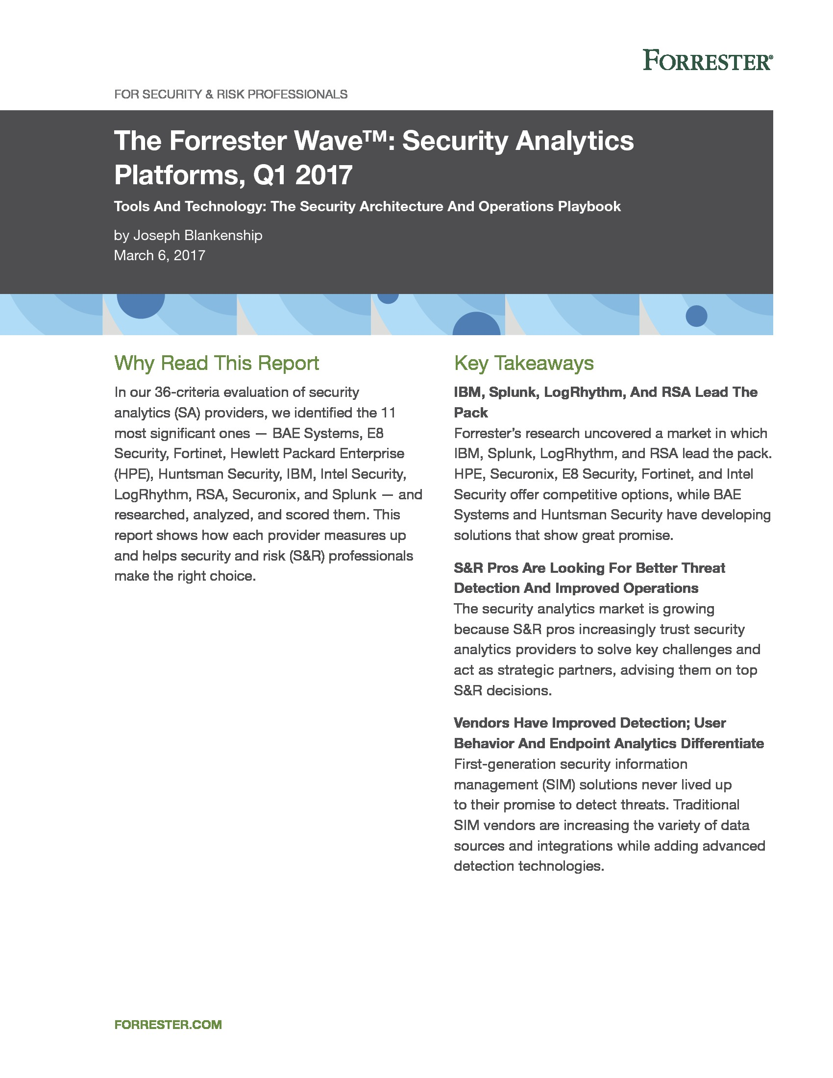 GOV - IBM - Smarter Microsite 2018 - The Forrester Wave