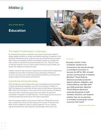 The Digital Transformation in Education