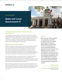 The Digital Transformation in State and Local Government IT