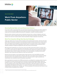 Securing Remote State and Local Government Workers