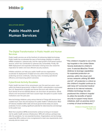 The Digital Transformation in Public Health and Human Services