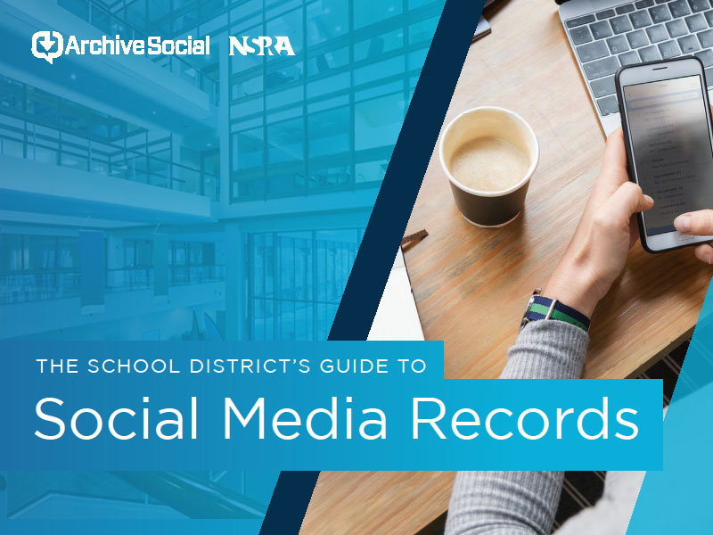 School District's Guide to Social Media Records