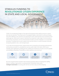 Stimulus Funding To Revolutionize Citizen Experience In State And Local Government