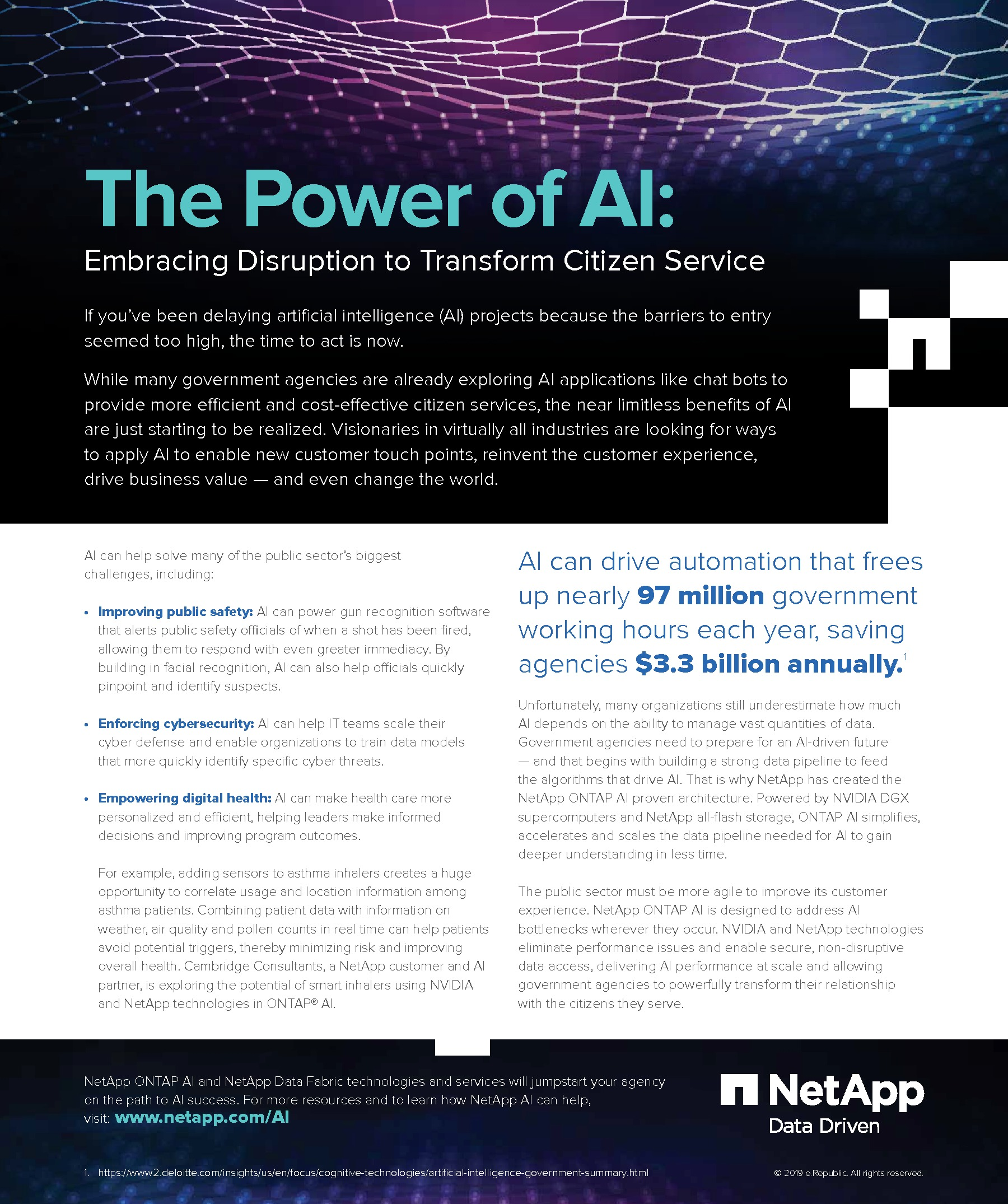 GT - NetApp - Client Supplied - 200109 - The Power of AI