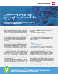 Community Development and Regulatory Administration On the Go