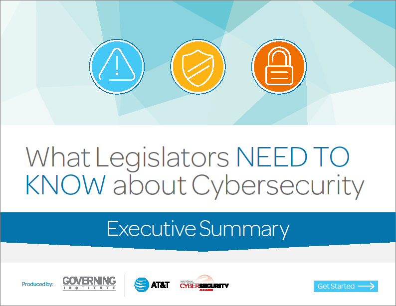What Legislators Need to Know about Cybersecurity
