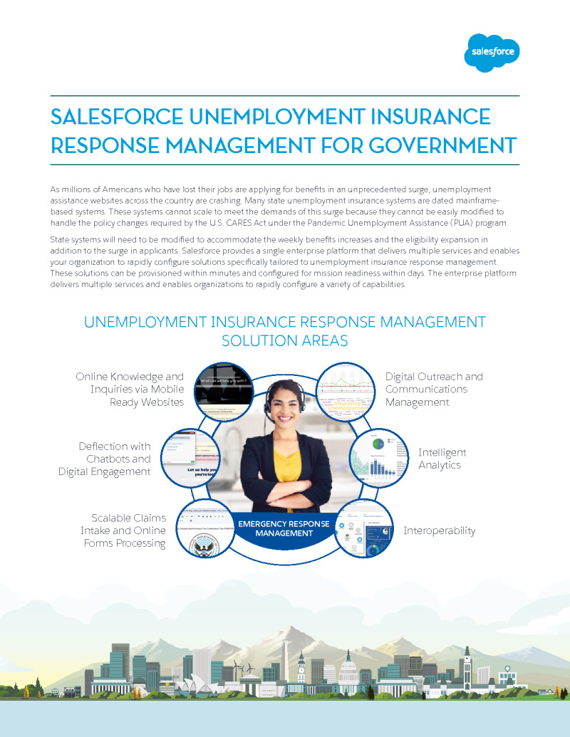 Unemployment Insurance Response Management for Government
