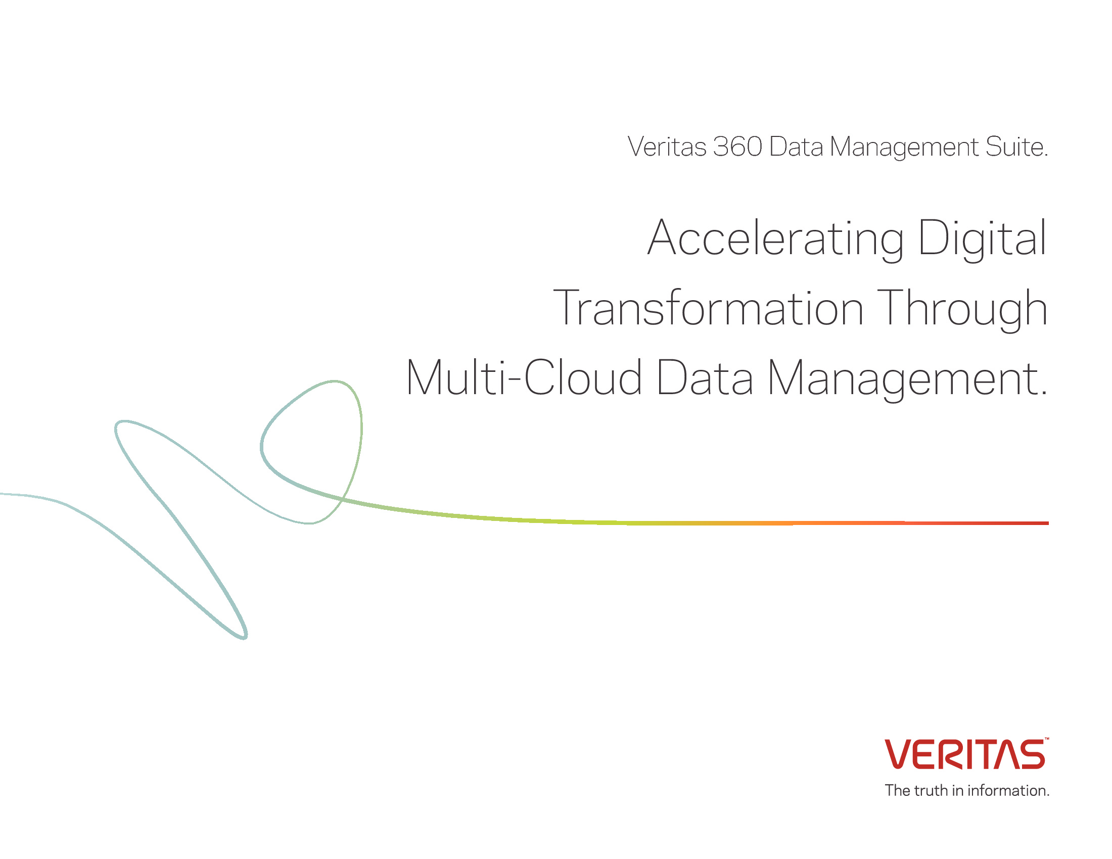 GT - Veritas - 2018 Data Channel - Digital Transformation