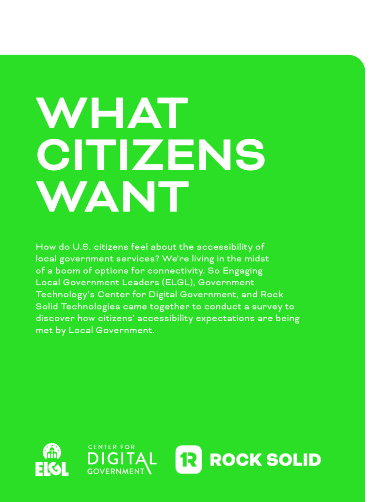 What Citizens Want Report