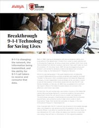 Breakthrough 9-1-1 Technology for Saving Lives