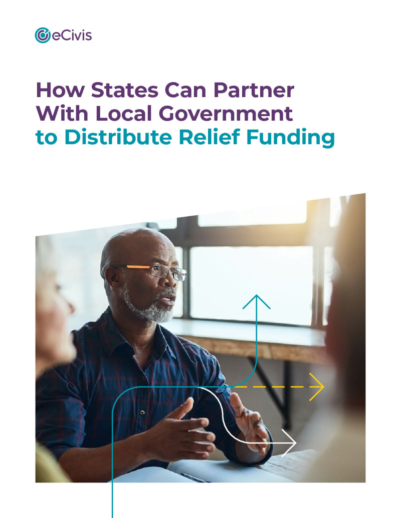 How States Can Partner with Local Government to Distribute Relief Funding