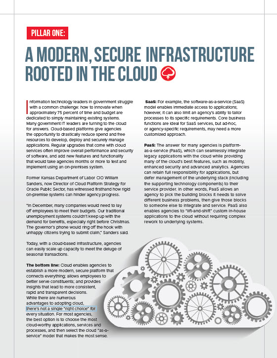 A Modern, Secure Architecture Rooted in the Cloud