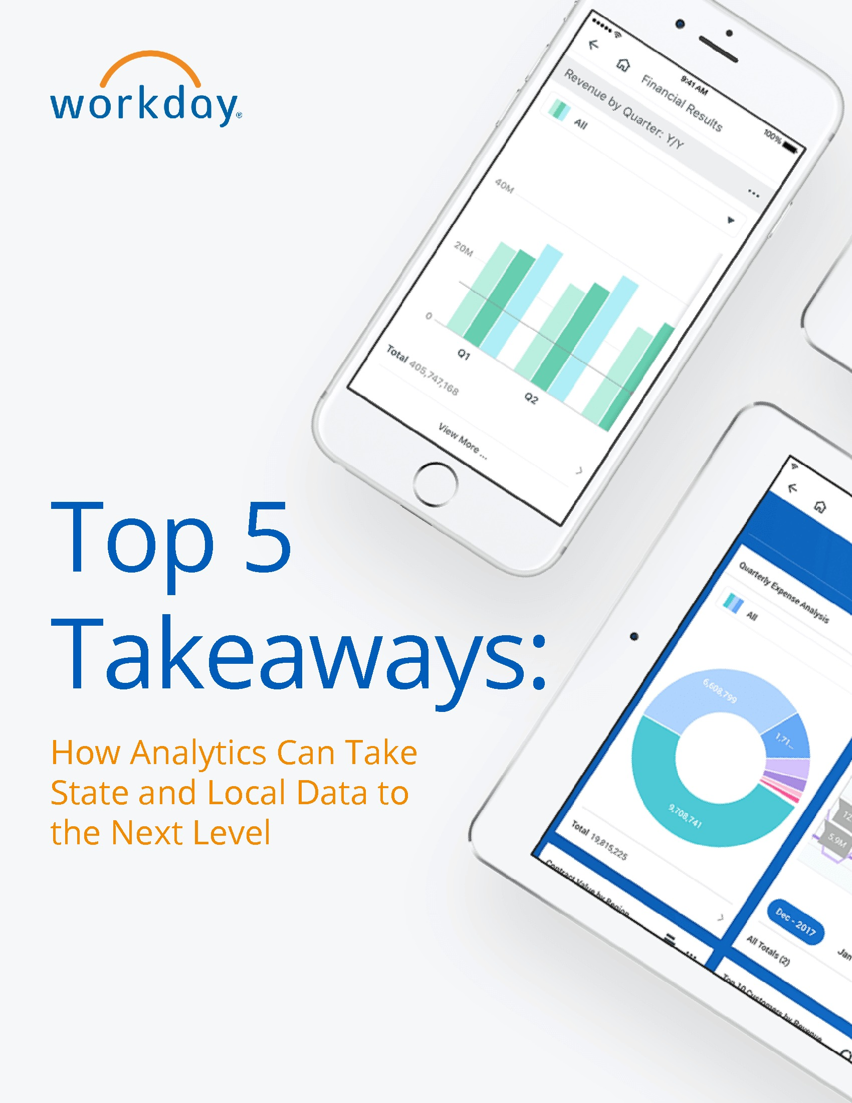 Top 5 Takeaways - How Analytics Can Take State and Local Data to the Next Level