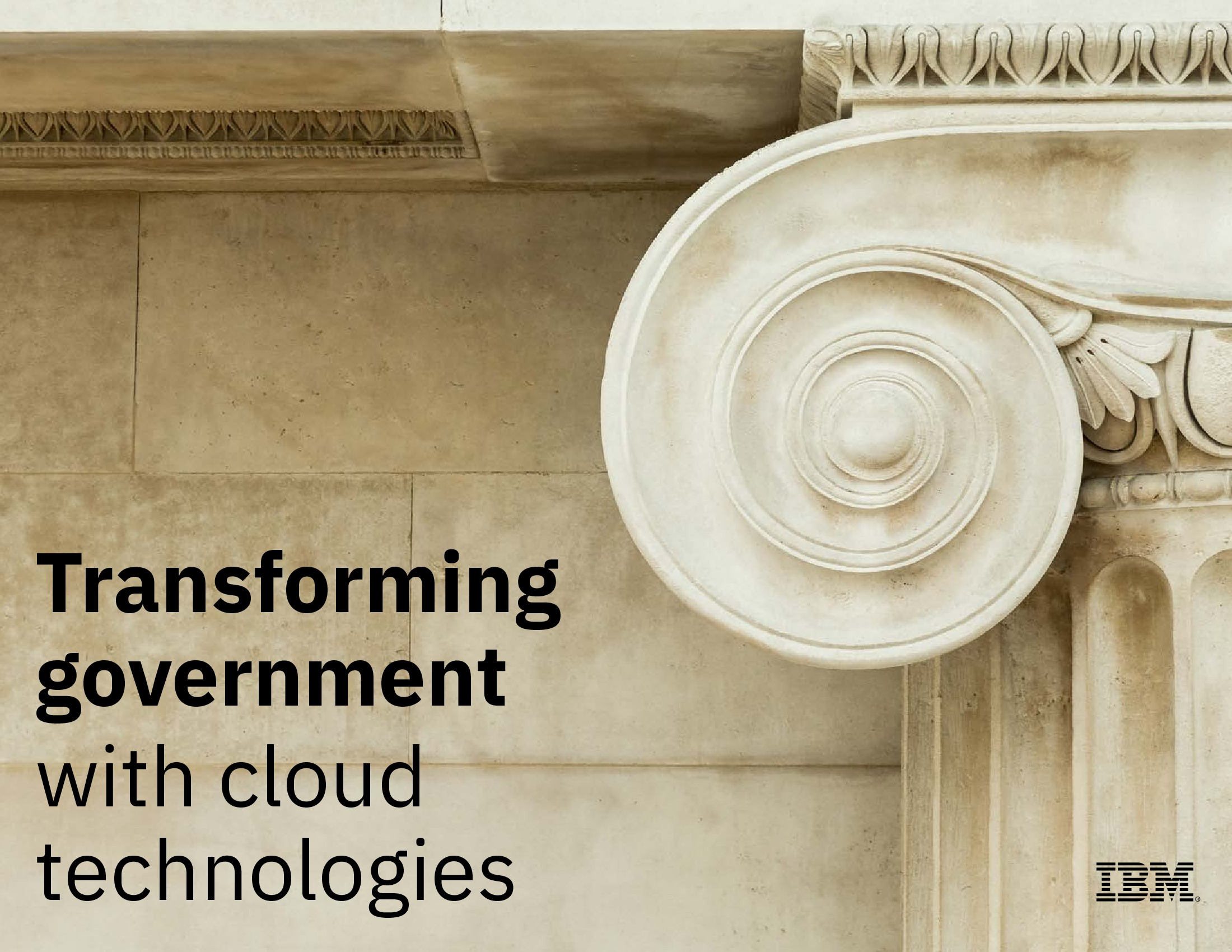 GT - IBM - 2019 Cloud Channel - Transforming Government