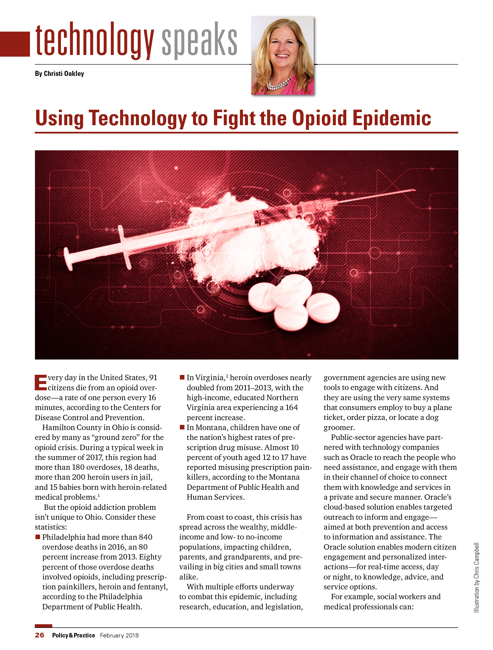 GT - Oracle - 2018 HHS Channel - Using Technology to Fight the Opioid Epidemic