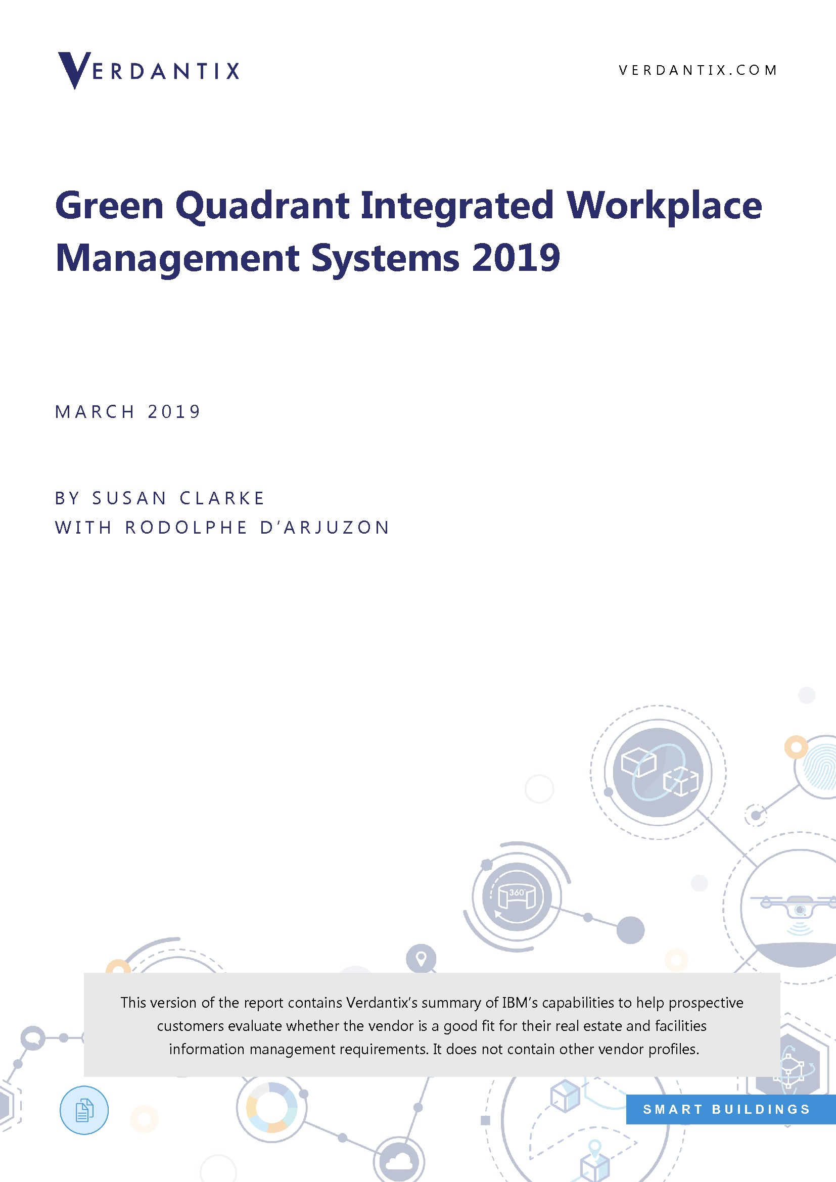 The Verdantix Green Quadrant IWMS