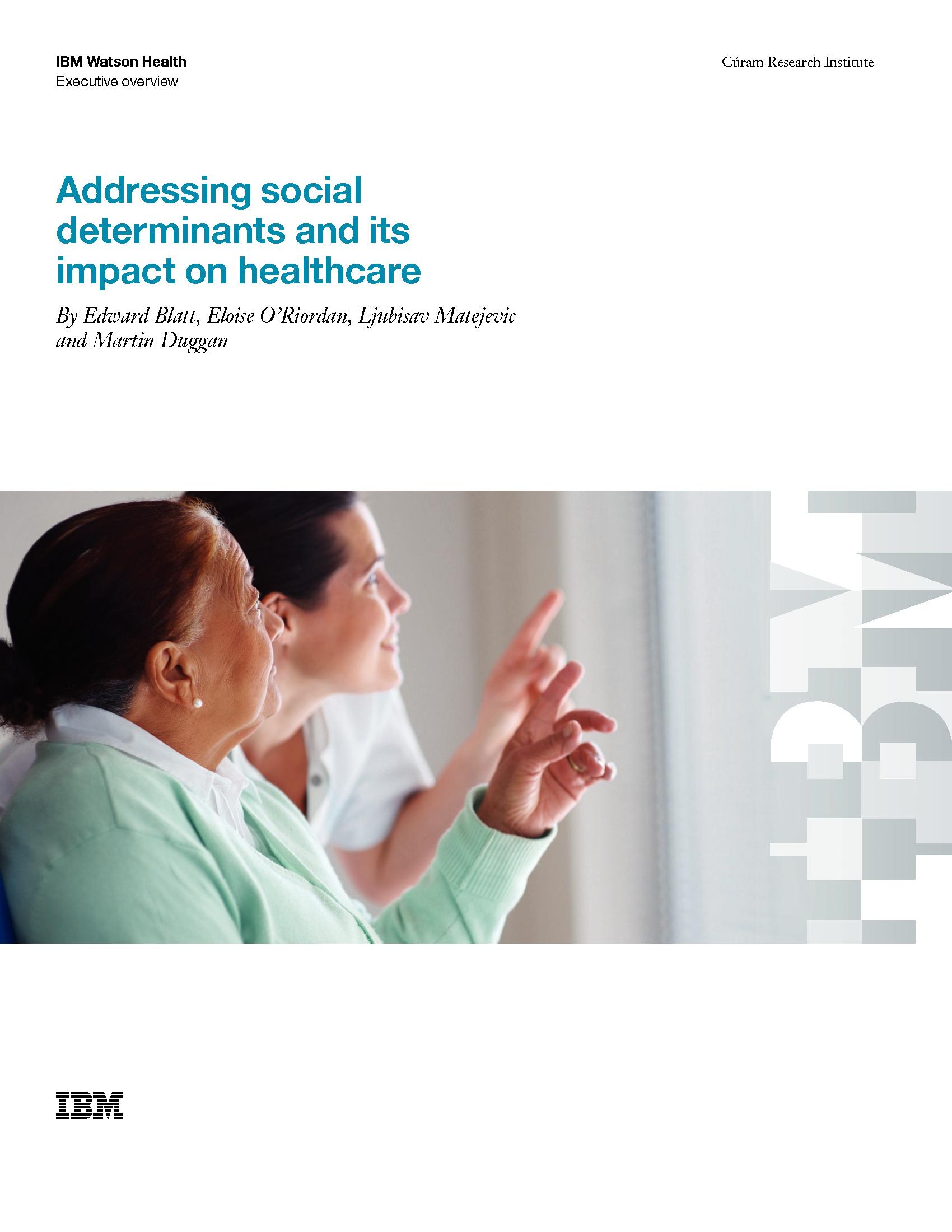 GOV - IBM - Smarter Microsite 2019 - Addressing social determinants